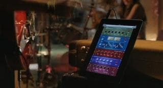 StompBox Guitar Effects App Featured in Apple Love iPad TV Commercial